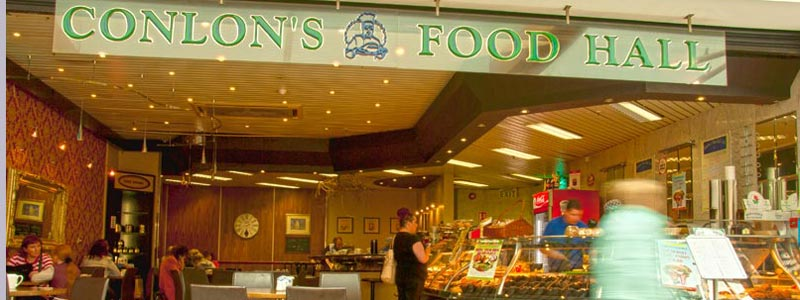 Our Longwalk Shopping Centre deli counter and coffee shop.